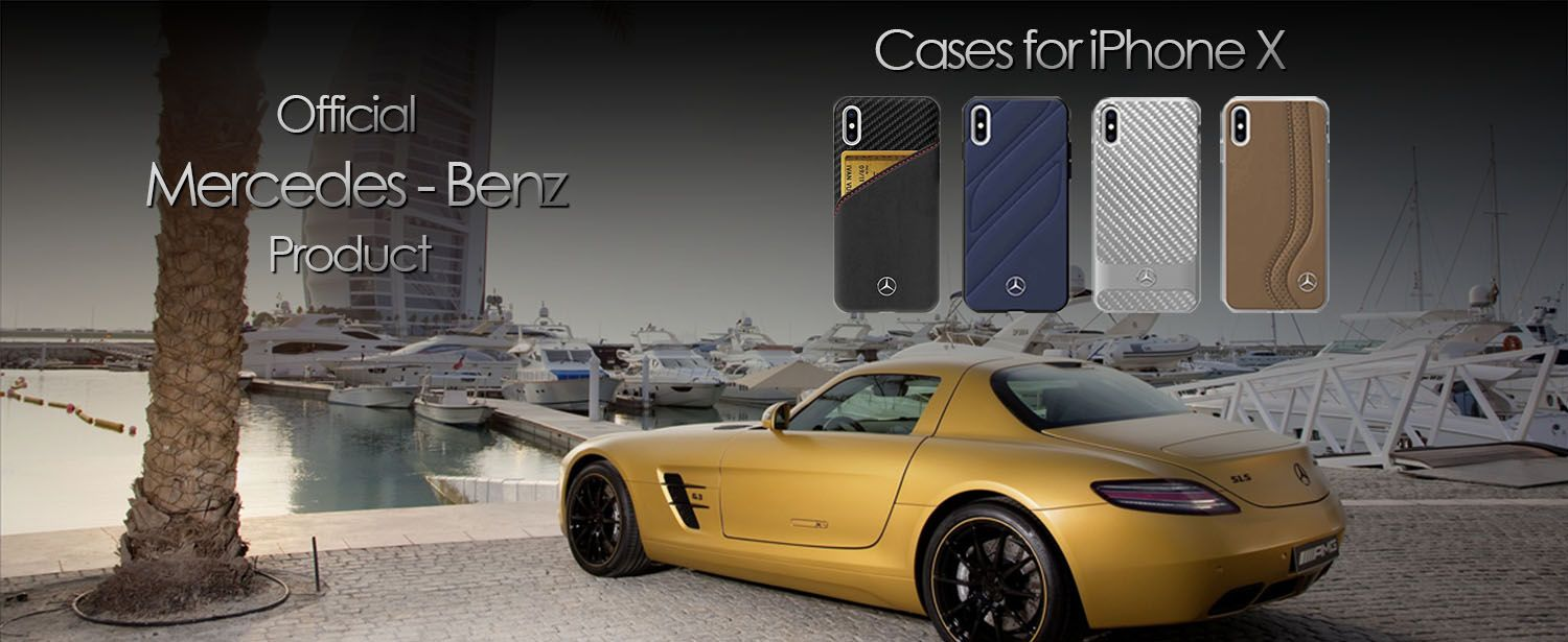 Mercedes-Benz Cases for iPhone X