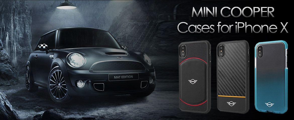 Mini Cooper Cases for iPhone X