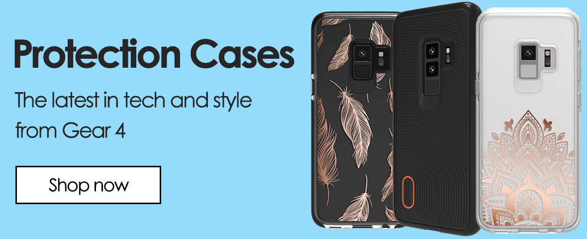 Protection cases - the latest in tech and style from Gear 4. Shop now.