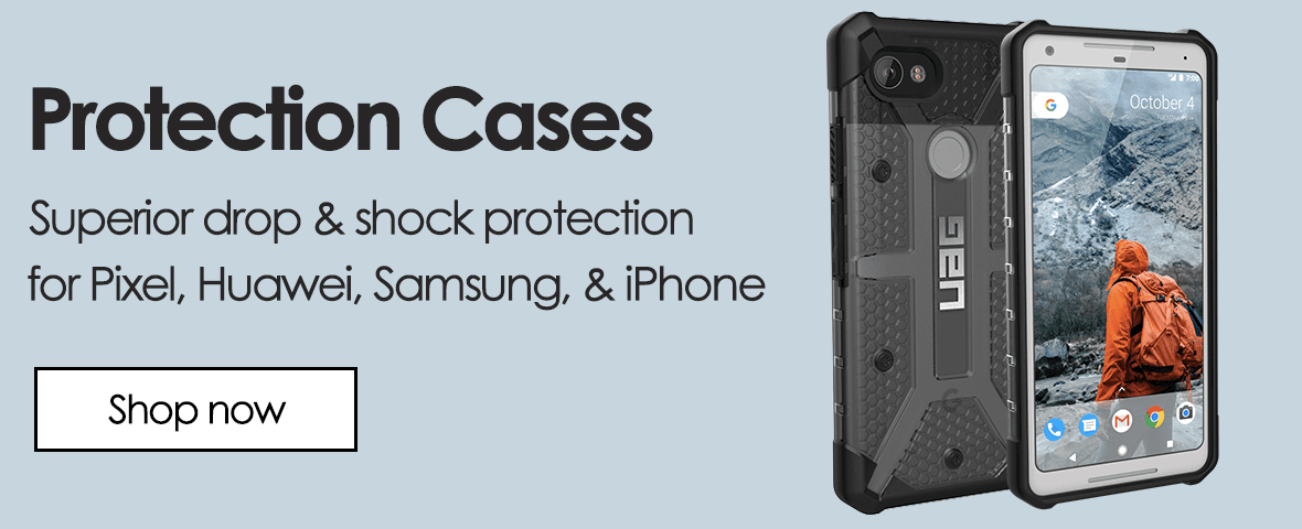 Protection cases. Superior drop and shock protection for google Pixel, Huawei, Samsung galaxy, and iphone devices. by UAG.