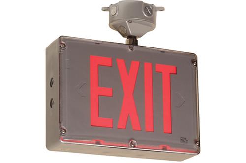 Hazardous Location Exit Sign Combo