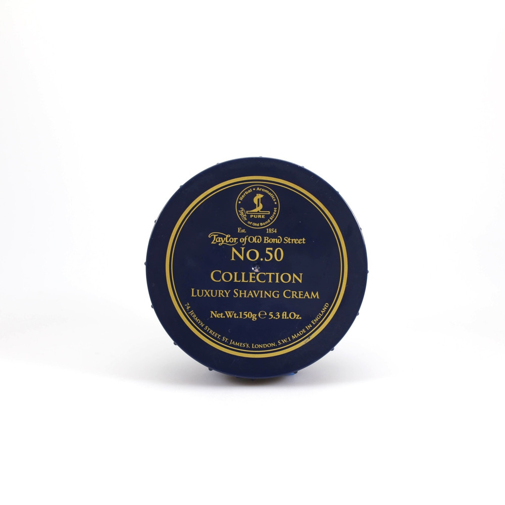 Taylor of Old Bond Street No. 50 Collection Luxury Shaving Cream