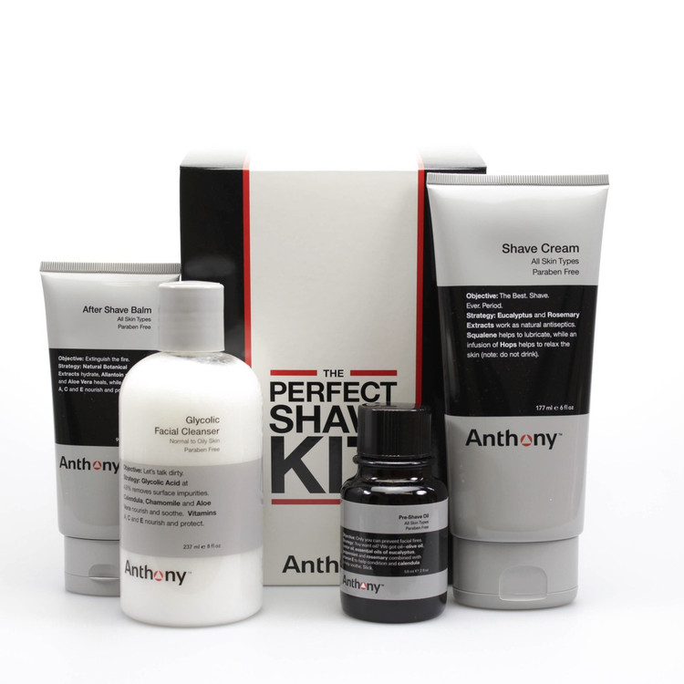 The Anthony Perfect Shave Kit