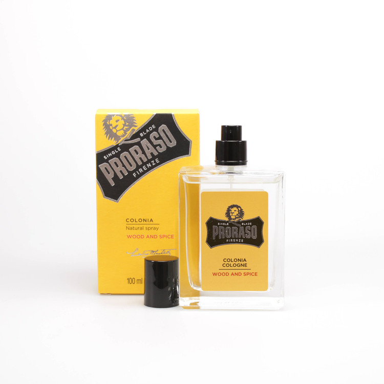 "Proraso ""Single Blade"" Wood & Spice Cologne"