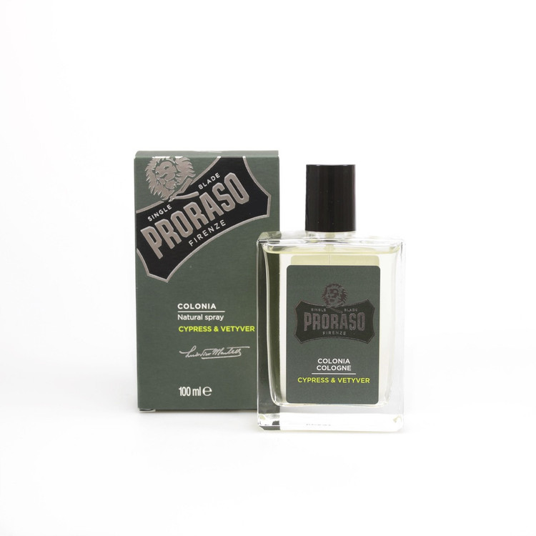 "Proraso ""Single Blade"" Cypress & Vetiver Cologne"