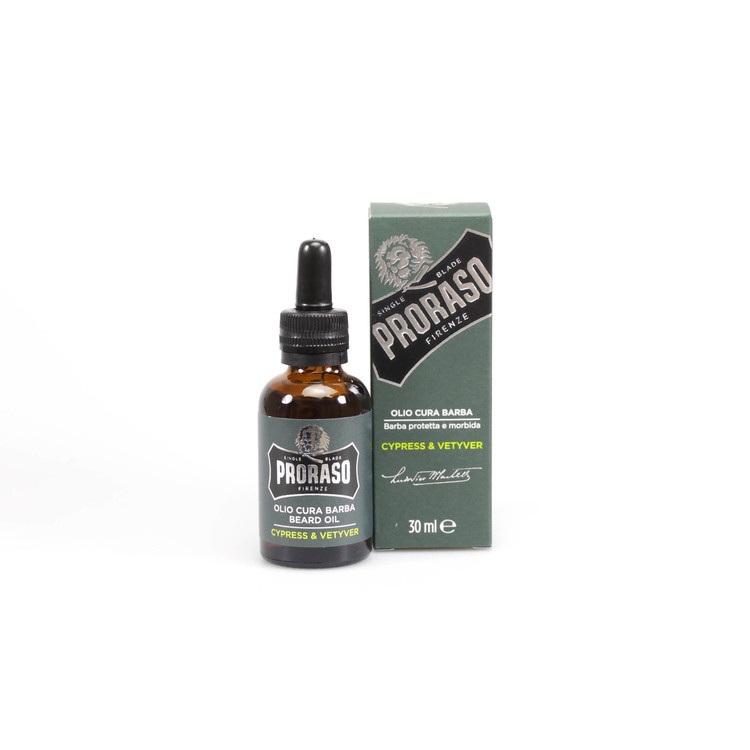 "Proraso ""Single Blade"" Cypress & Vetiver Beard Oil"