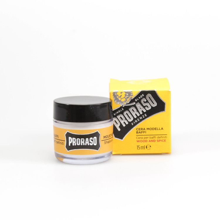 "Proraso ""Single Blade"" Wood & Spice Mustache Wax"