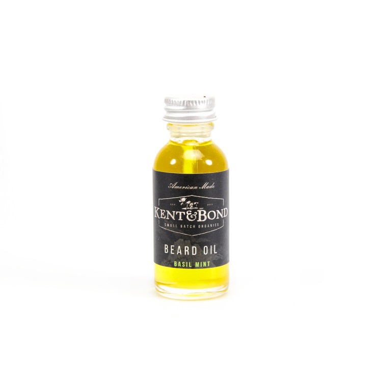 Kent & Bond Basil Mint Organic Beard Oil