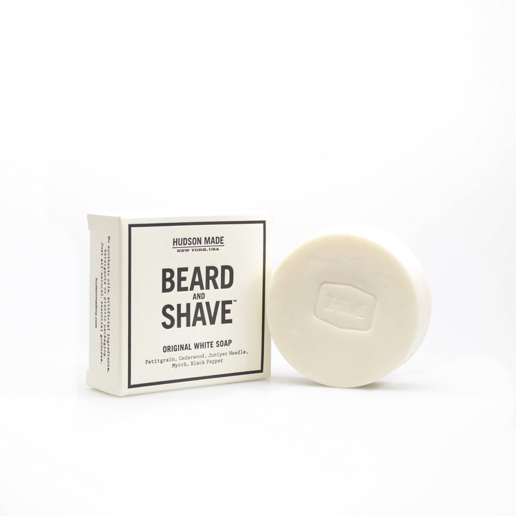 Hudson Made Original Beard & Shave Soap