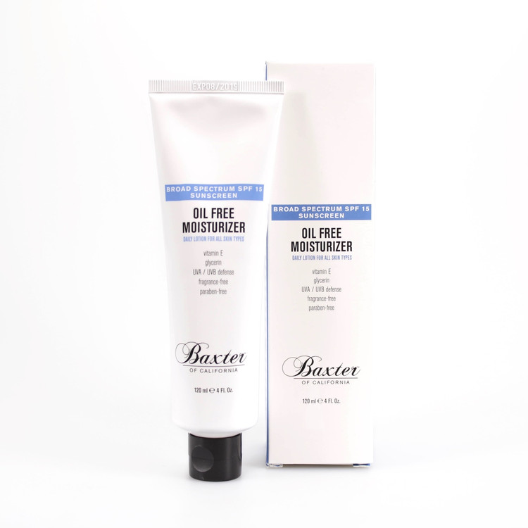 Baxter of California Oil-Free Moisturizer SPF 15