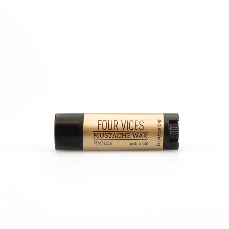Beardbrand Four Vices Mustache Wax