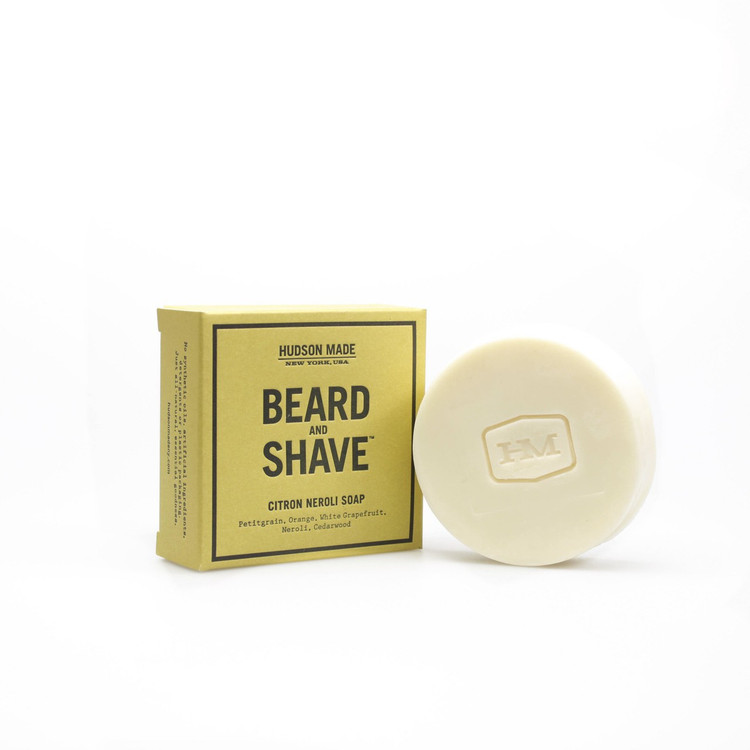 Hudson Made Citron Neroli Beard & Shave Soap