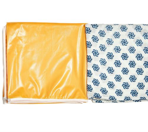 Blanket to Play Mat | Two Layer | Pinwheel