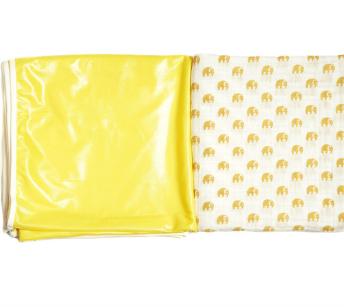 Blanket to Play Mat | Two Layer | Sunshine Tusks