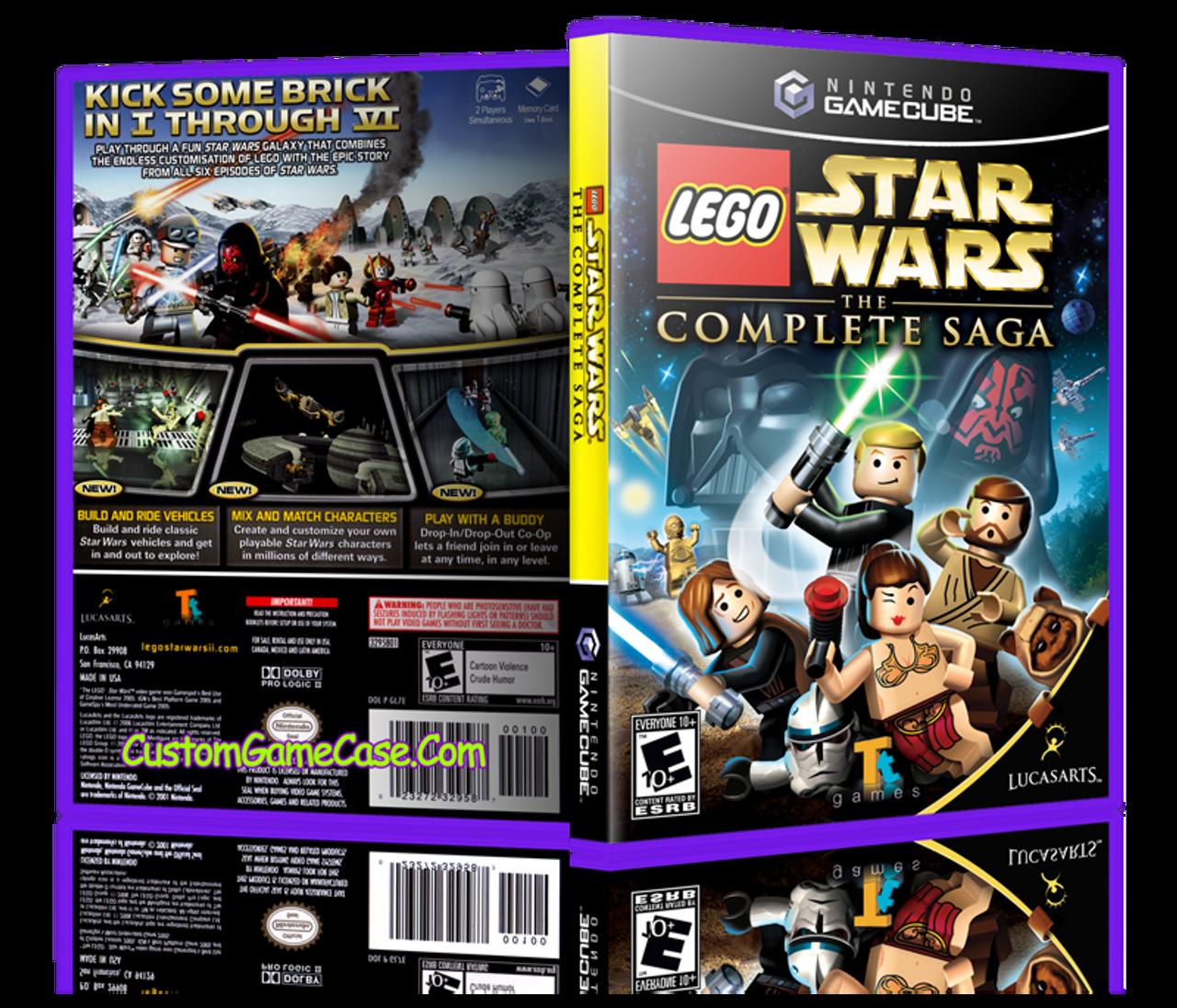 LEGO Star Wars The Complete Saga - Nintendo GameCube GC - Empty ...