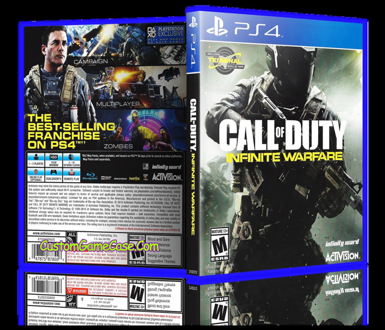 call of duty advanced warfare manual ps4