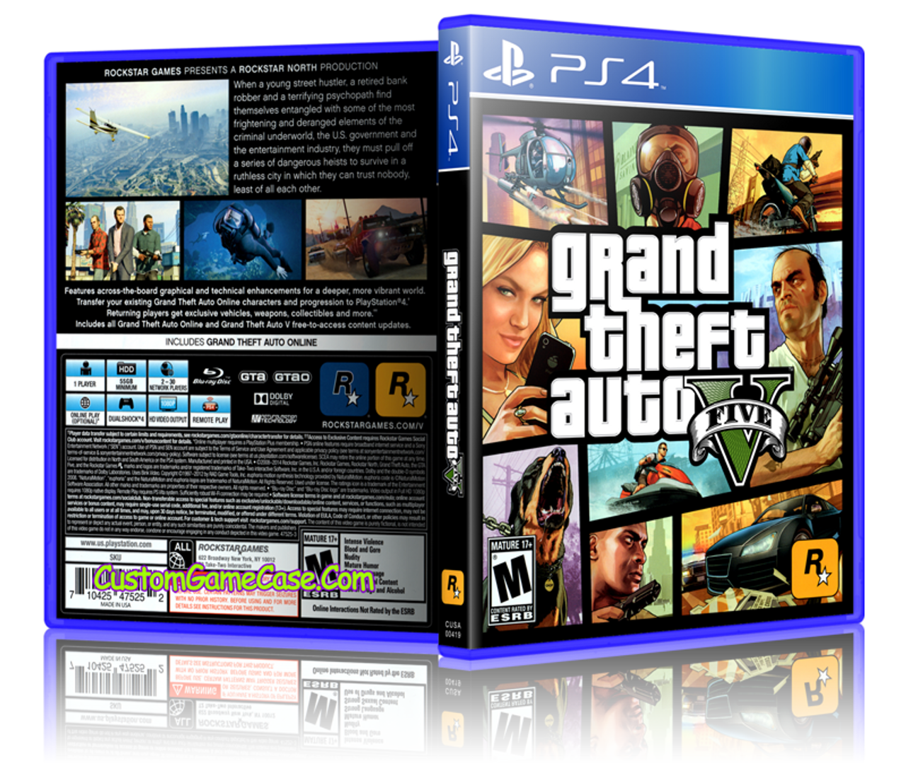 grand theft auto 5 playstation 4 game gameswallsorg