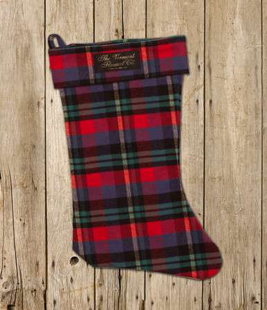 christmas stocking handcrafted usa the vermont flannel co