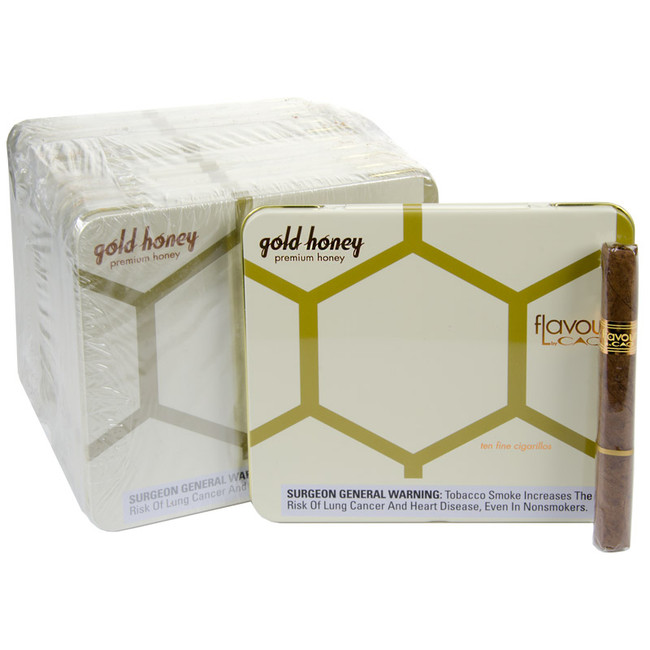 CAO Flavours Gold Honey Cigarillos Tins