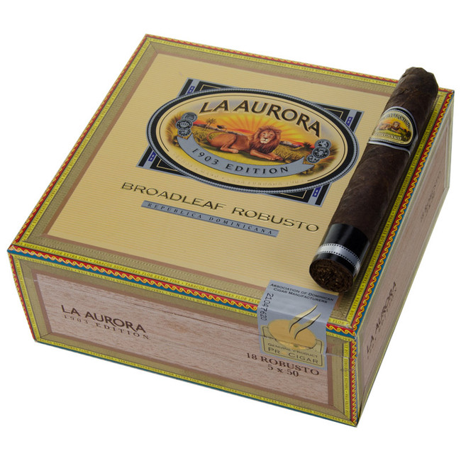 La Aurora Preferidos Diamond CT Broadleaf Maduro Robusto