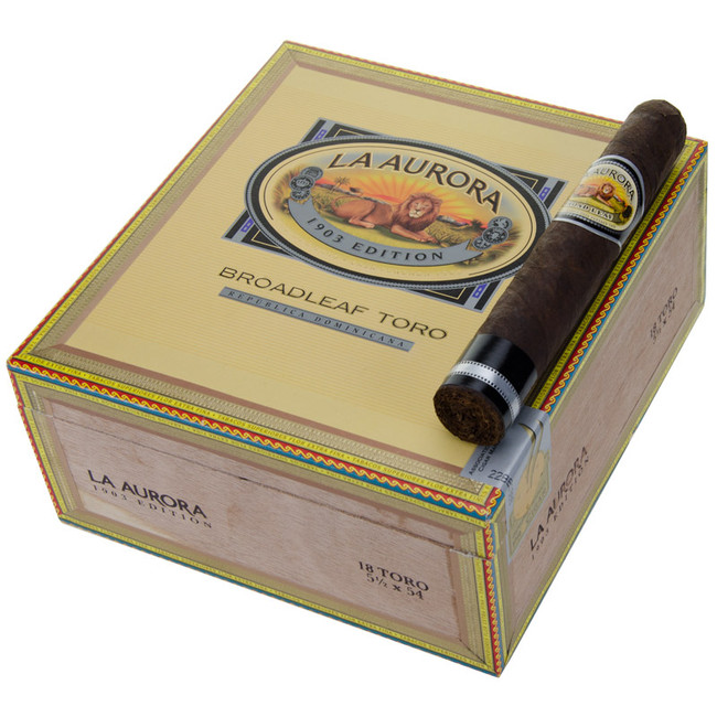 La Aurora Preferidos Diamond CT Broadleaf Maduro Toro