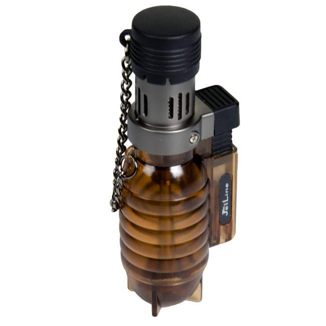JetLine Grenade Bronze Table Lighter