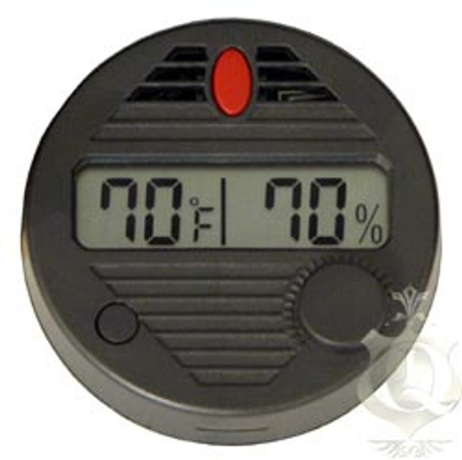 Atlantic Cigar Hygro-Set II Round Digital Hygrometer