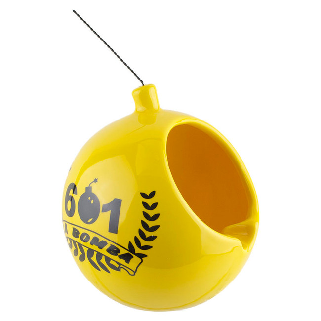 601 La Bomba Da Bomb Ashtray Yellow