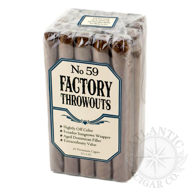 Factory Throwouts No. 59 Bundles