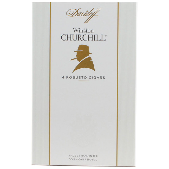 Davidoff Winston Churchill Robusto 4-Pack 1/4