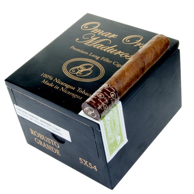 Omar Ortez Maduro Cigars Robusto Grande 20-CT
