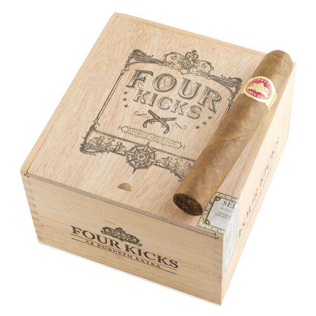 Four Kicks by Crowned Heads Robusto Extra