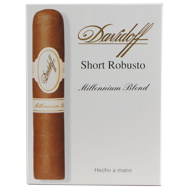 Davidoff Millennium Series Short Robusto 4-Pack 1/4