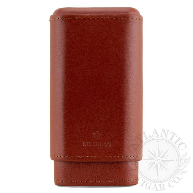 Atlantic Cigar The Western Cigar Case (Tan)