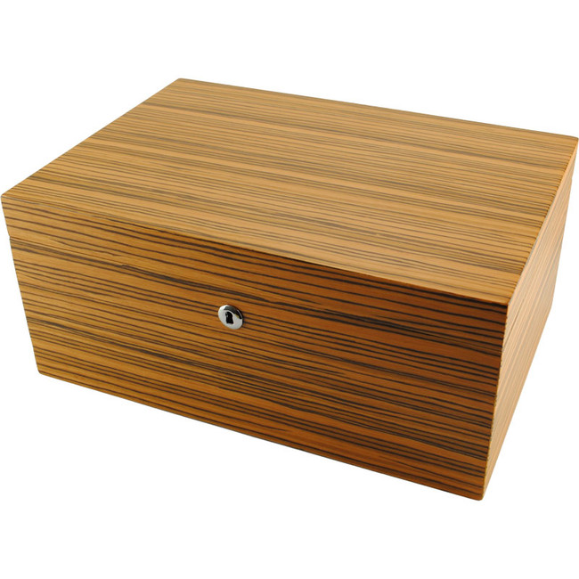 The Zebrano Elite Humidor