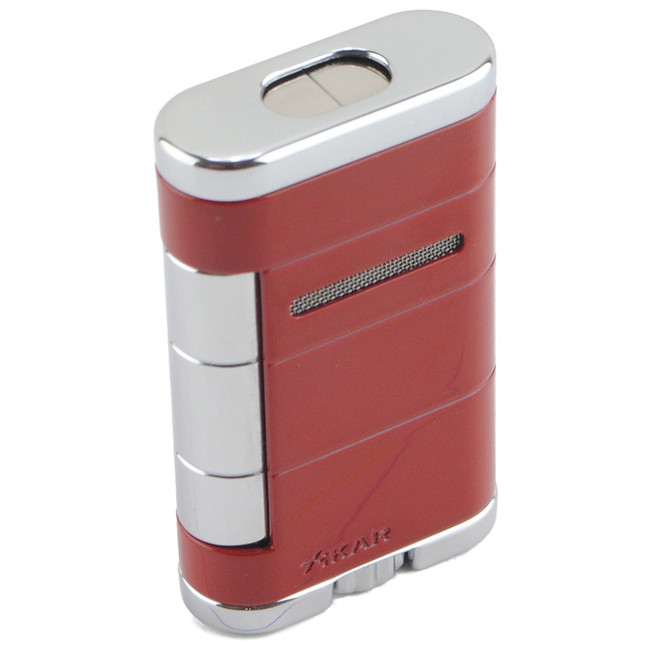 Xikar Allume Double Torch Lighter Riot Red