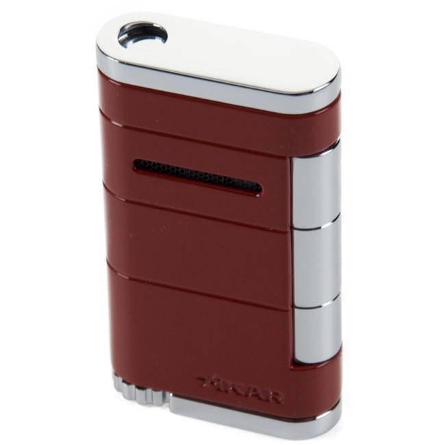 Xikar Allume Single Torch Lighter Riot Red