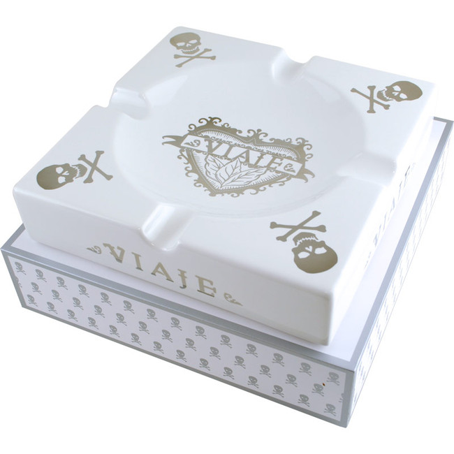 Viaje 2015 Skull & Bones Ashtray White/Silver