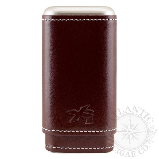 Xikar Xikar Envoy Cognac Leather 3 Count