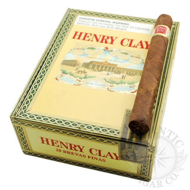 Henry Clay Cigars Brevas Finas Maduro (Cello)