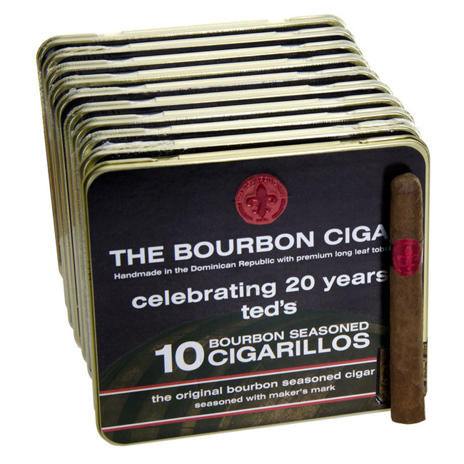 Makers Mark Cigars Bourbon Cigarillo Tins
