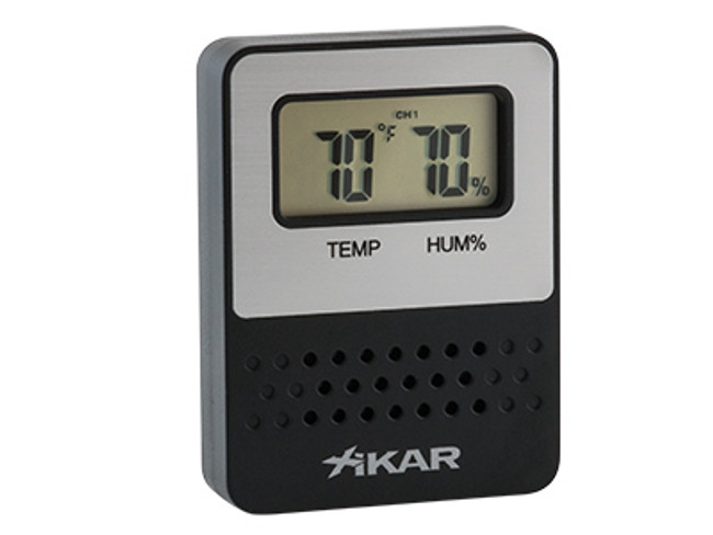 Xikar PuroTemp Wireless Remote Digital Hygrometer