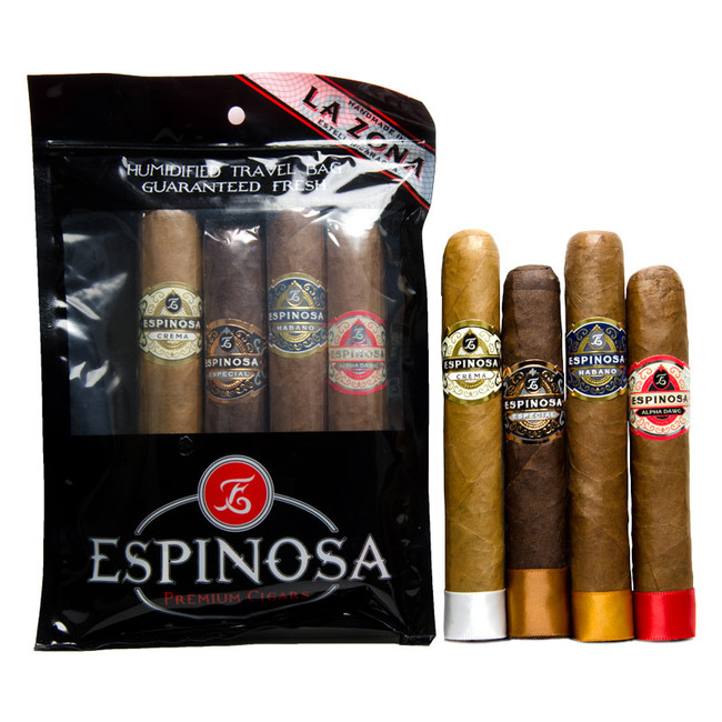 Espinosa Humi-Bag Robusto 4-Pack Sampler