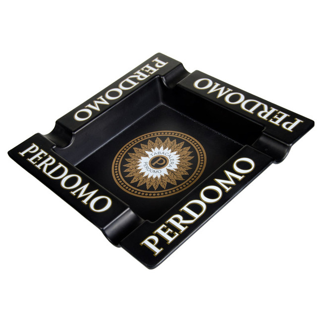 Perdomo Logo Melamine Ashtray
