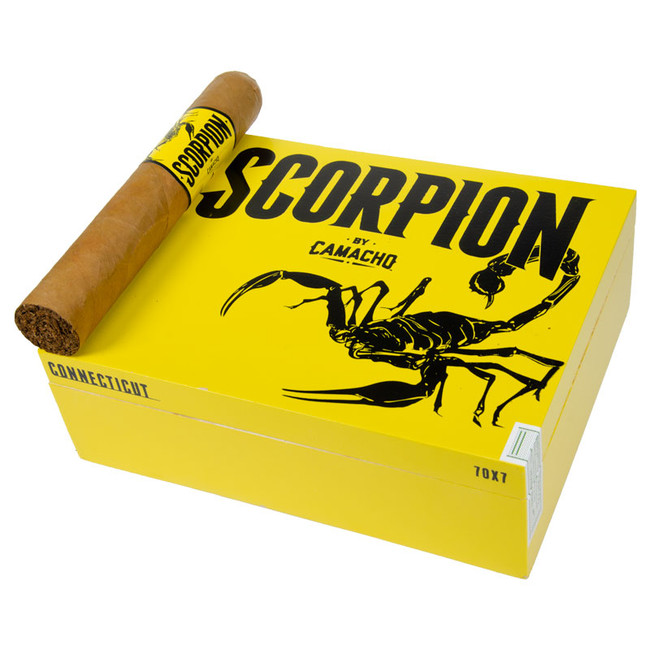 Camacho Scorpion Connecticut Super Gordo (7x70)