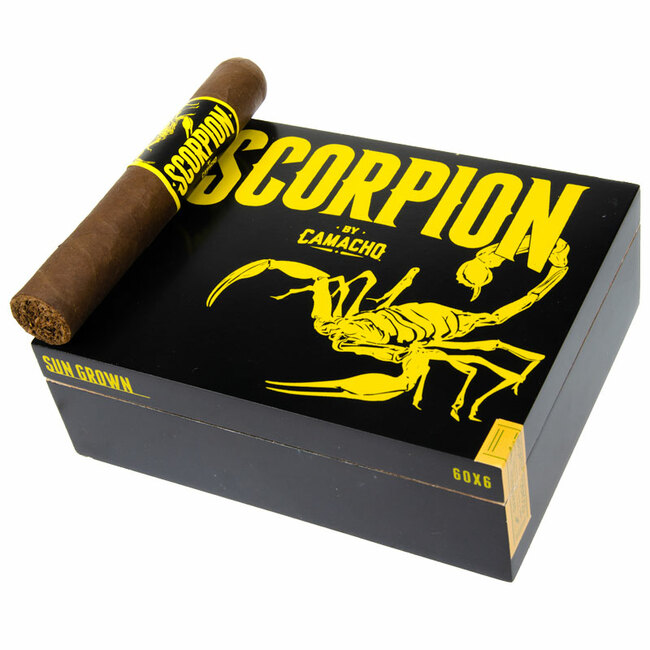 Camacho Scorpion Sun Grown Gordo (6x60)