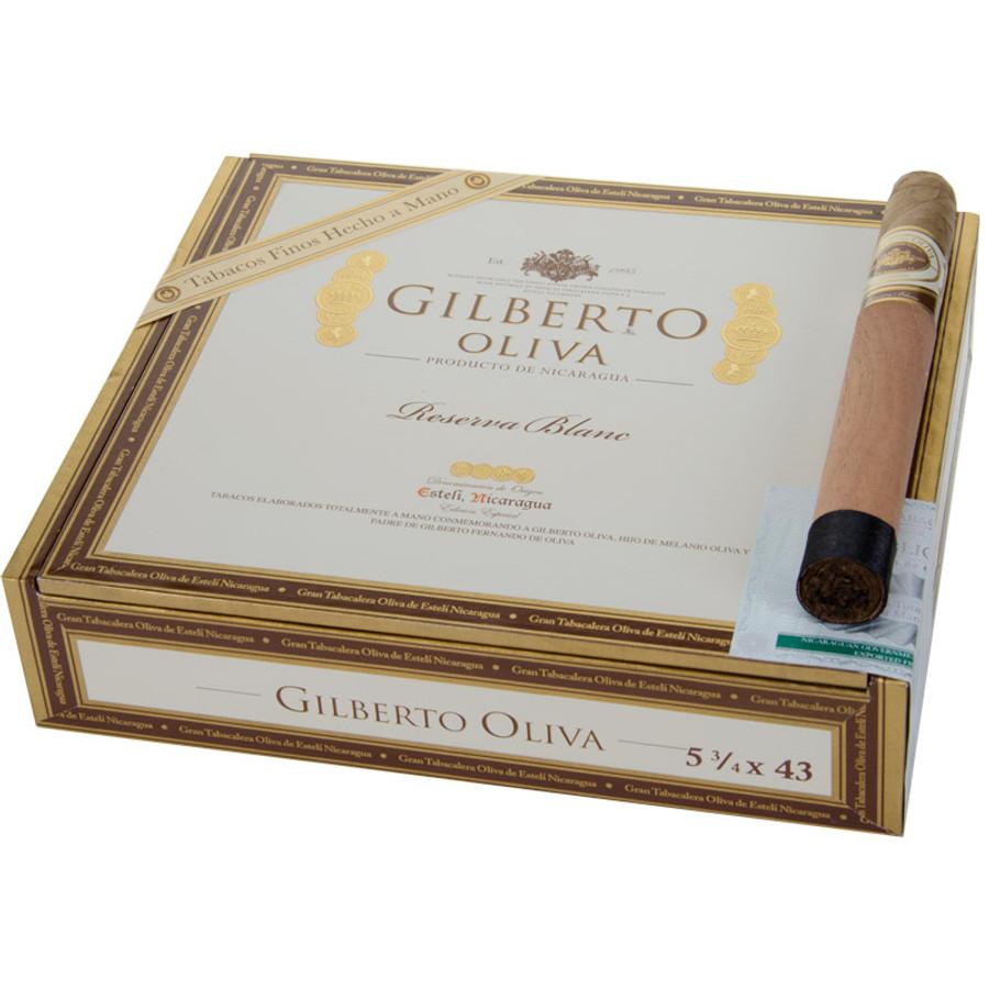 Oliva Gilberto Oliva Reserva Blanc 5.75x43 Corona
