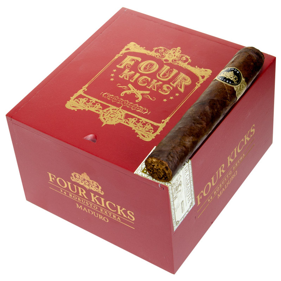 Four Kicks Maduro by Crowned Heads Robusto Extra
