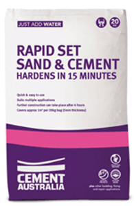 RAPID SET SAND MIX 20KG