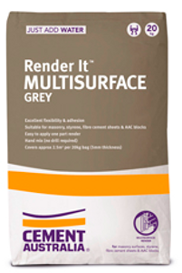 RENDER IT GREY 20KG